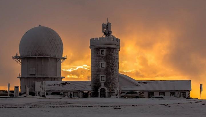 Meteorologia Serra da Estrela - Torre