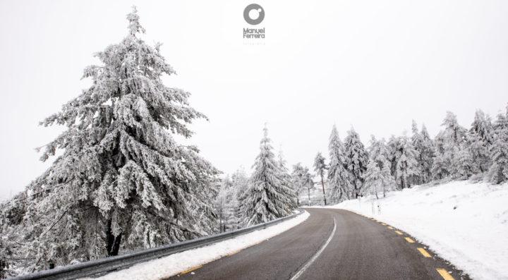 neve entre o Natal e o Ano Novo
